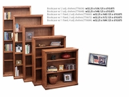 Legends Furniture TT6672.GDO Bookcase w/ 1 fixed & 3 adj shelves
