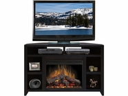 "Legends Furniture UL5102.MOC Urban Loft 56"" Corner Fireplace"