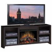 "Legends Furniture UL5103.MOC Urban Loft 76"" Fireplace Console"