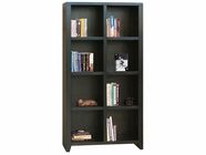 Legends Furniture UL6202.MOC Urban Loft 8 Cubicle Bookcase