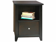 Legends Furniture UL6805.MOC Urban Loft One Drawer File Cabinet