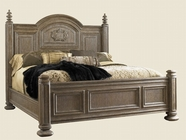 Lexington 01-0841-134C LA Tourelle Bordeaux Panel Bed 6/6 King