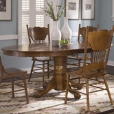 Liberty 10-P521-T521 Single Pedestal Table