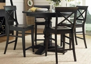 Liberty 126-GT4848-4848B-4XB300024 Sundance Lake Round Pedestal Counter Height dining set