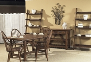 Liberty 139-GT3660-4XC1000S Farmhouse Center Island Table dining set