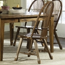 Liberty 17-C1032 Sheaf Back Side Chair - Oak