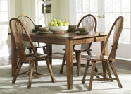 Liberty 17-T3660-C1032 Treasures Solid Top Leg Table Dining Set