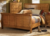 Liberty 176-BR21Q Grandpa's Cabin Queen Sleigh Bed