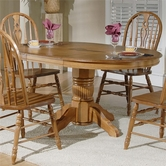 Liberty 18-P560-T560 Pedestal Table