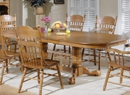 Liberty 18-P570-T570 Double Pedestal Table