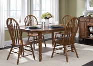 Liberty 18-T566-C561S Furniture 18-T566 Oval Leg Table Dining Set