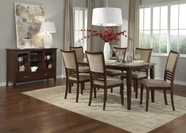 Liberty 188-T4242-4XC6501S Davenport Rectangular Leg Table dining set