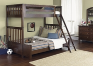 Liberty 277-BR07G-R-HF-S Abbott Ridge Twin Over Twin Bunk Bed