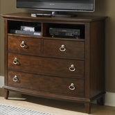 Liberty 287-BR45 Media Chest