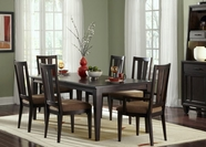 Liberty 294-T4284-4XC2501S Visions Rectangular Leg Table Dining set