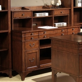 Liberty 296-HO120-131 Keystone Jr Executive Credenza and hutch