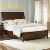 Liberty 341-BR16FS-22H-73RSP King Sleigh Bed