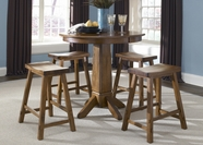 Liberty 38-PUB3636-B1824 Furniture 38-PUB3636 Casual Dining Set