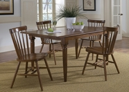 Liberty 38-T300-C50 Furniture Butterfly Leaf Table Set ~ Tobacco (38-T300)