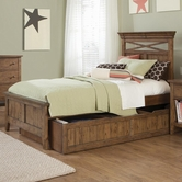 Liberty 382-BR17-18-89 Full Panel Bed