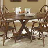 Liberty 382-P6060-T6060 Hearthstone Drop Leaf Pedestal Table