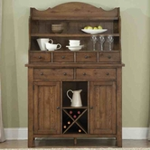 Liberty 382-SR5074-H Hearthstone Server and hutch