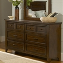 Liberty 461-Br31 6 Drawer Dresser
