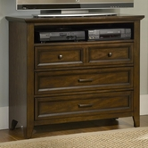 Liberty 461-BR45 Media Chest