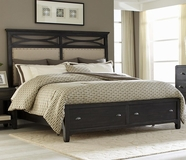 Liberty 503-BR13-14FS-90RSP Queen Storage Bed
