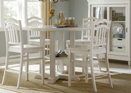 Liberty 518-GT4848-4xC150124 Summerhill Gathering Table dining set