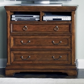 Liberty 547-BR45 Laurelwood Media Chest