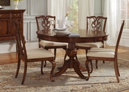 Liberty 577-T7070-C2501S Furniture Round Pedestal Table Set (577-T7070)