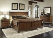 Liberty 589-BR21H-F-90-31-51 Rustic Traditions Bedroom collection