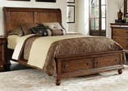 Liberty 589-BR21H-FS-90RSP Rustic Traditions Queen Storage Bed