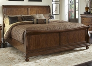 Liberty 589-BR22H-F-90 Rustic Traditions King Sleigh Bed