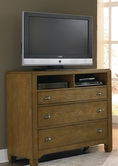 Liberty 603-BR45 Town & Country Media Chest
