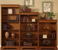Liberty 605-HO3048-60-72-RTA Devonshire Jr Executive Bookcase wall