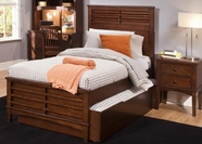 Liberty 628-BR11H-R-F-T Chelsea Square Twin Panel Bed with Trundle Unit