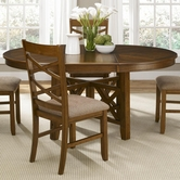 Liberty 64-P4866-T4866 Bistro Oval Pedestal Table