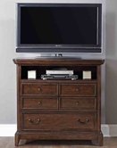 Liberty 714-BR45 Shadow Ridge Media Chest