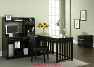 Liberty 717-HO111- Furniture Hampton Bay Home Office~Black (717-HO)