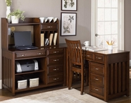Liberty 718-HO111-111C-121-140 Hampton Bay L-Shaped Desk
