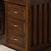 Liberty 718-HO146 Hampton Bay Cherry Mobile File Cabinet