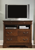 Liberty 722-BR45 Alexandria Media Chest
