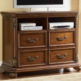 Liberty 737-BR45 Messina Estates 4 Drawer Media Chest