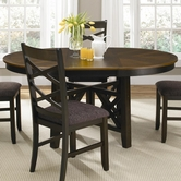Liberty 74-P4866-T4866 Bistro II Oval Pedestal Table