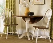 Liberty 79-P4242-T4242-4xC5500S Low Country Sand Drop Leaf Pedestal Table dining set