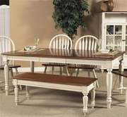 Liberty 79-T3876 Low Country Sand Rectangular Leg Table