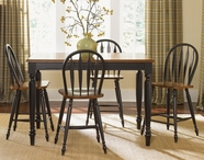 Liberty 80-GT5454-4xB100024 Low Country Black Gathering Table dining set