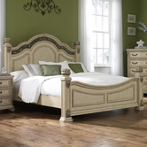 Liberty 837-BR01-02-72 Messina Estates II Queen Poster Bed